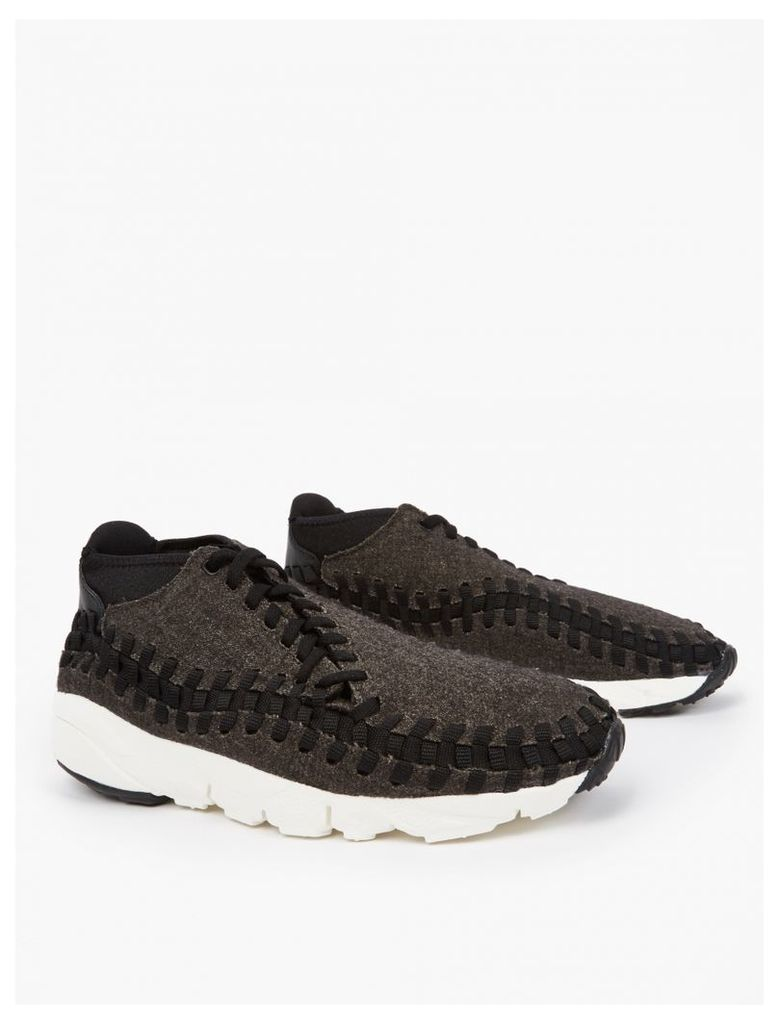 Black Air Footscape Woven Chukka Sneakers