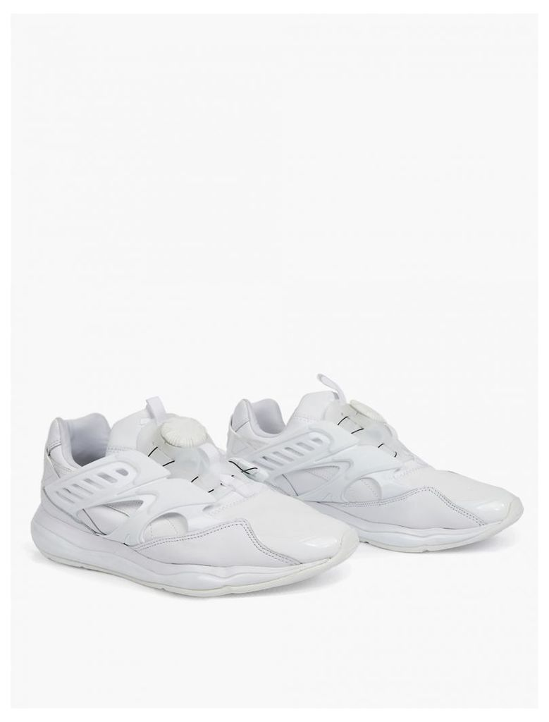 White Disc Blaze Cell Sneakers