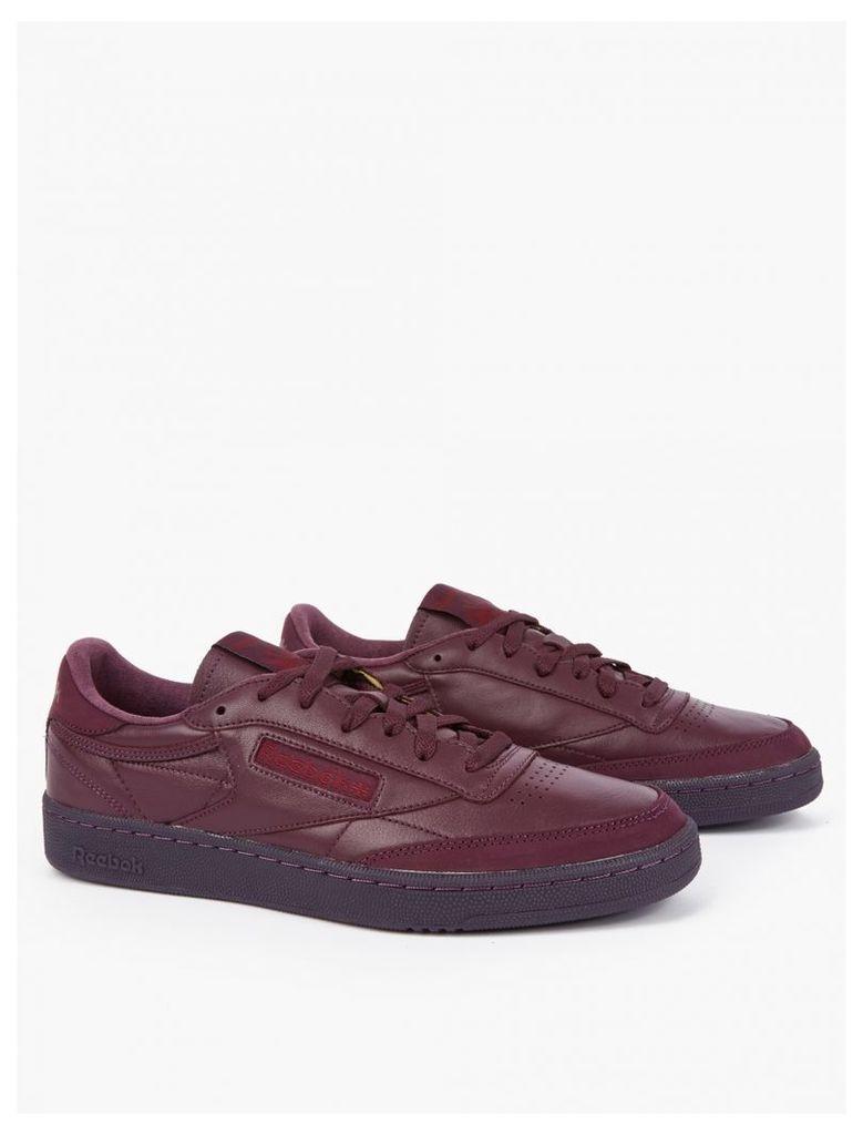 Burgundy Club C 85 Sneakers
