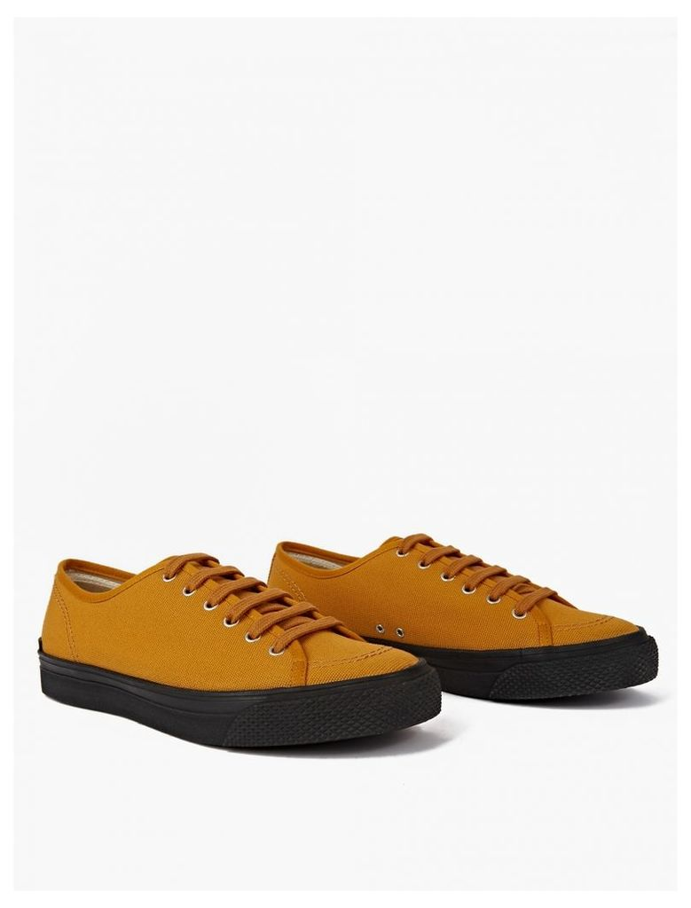 Yellow Sunflower Canvas Sneakers