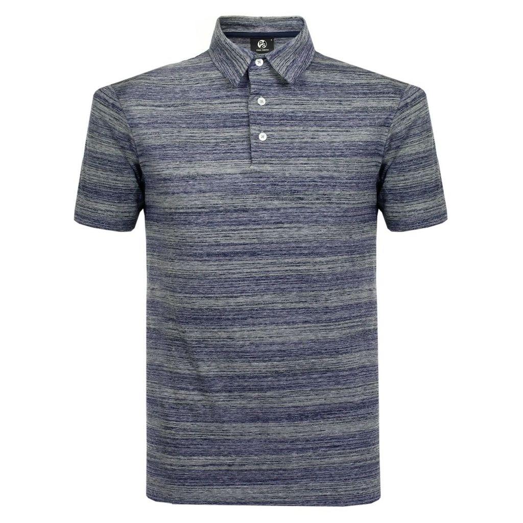 Paul Smith Striped Navy Polo Shirt PSXD-019R-525