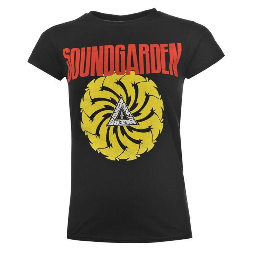 Official Soundgarden T Shirt Ladies