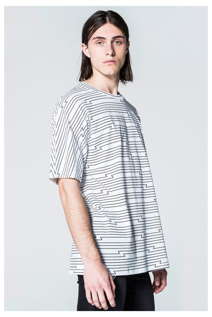 Icon Tron Stripe Edge Tee