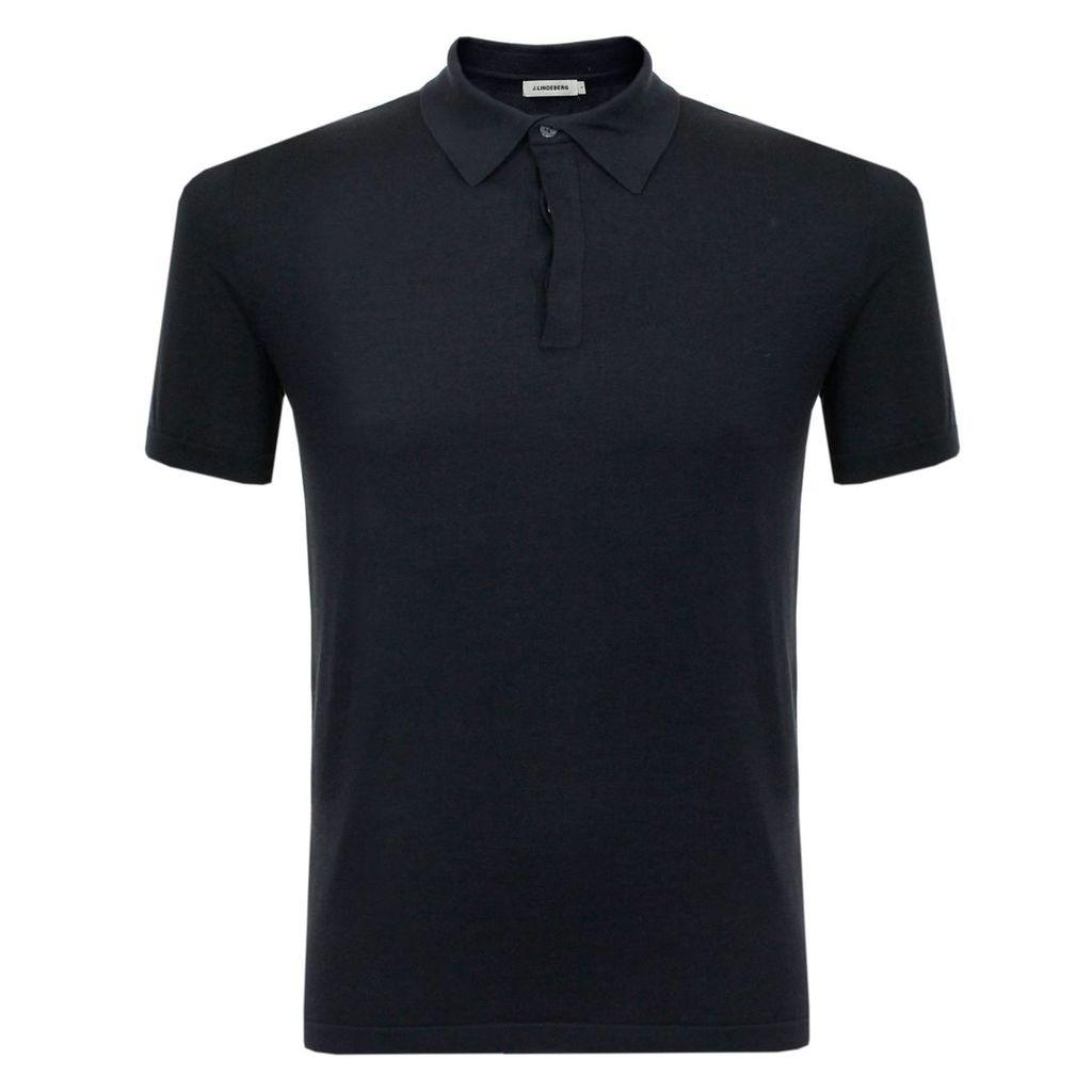 J Lindeberg Mikael Navy Polo Shirt 73MC720587024