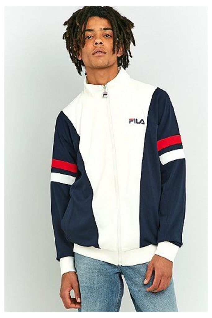 Fila Miles White Track Jacket, White
