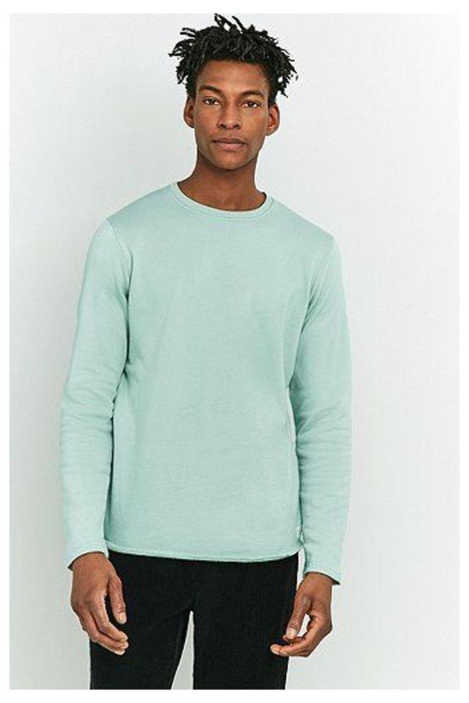 Edwin Garment Terry Mint Long-Sleeve Shirt, Mint