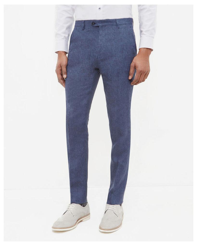 Ted Baker Debonair linen trousers Light Blue