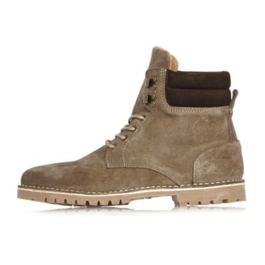 River Island Mens Brown suede boots