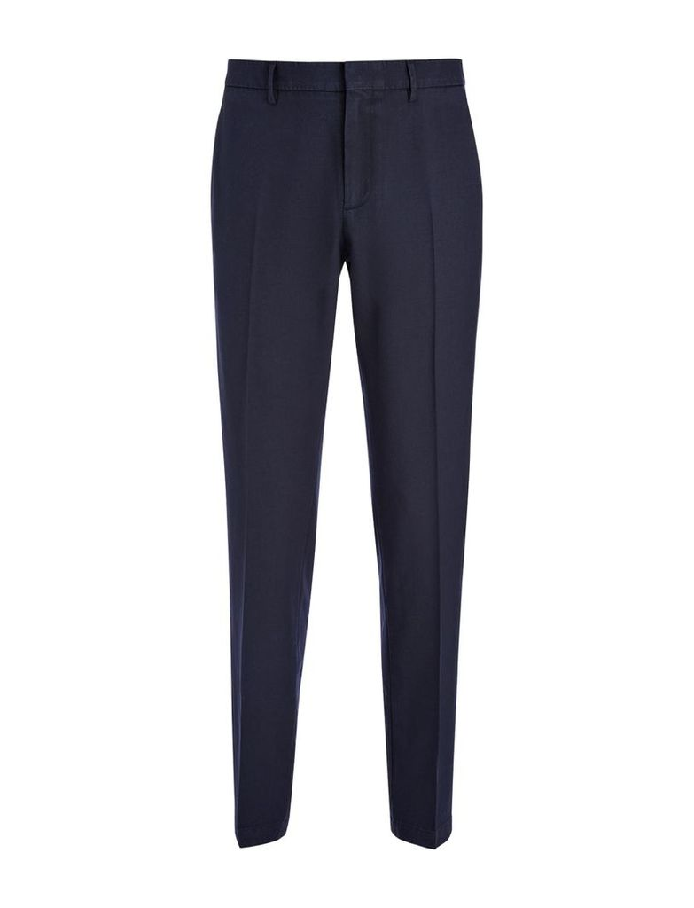 Washed Twill Jack Trouser in Navy