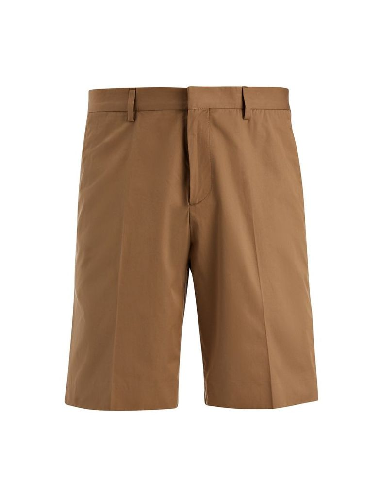 Light Cotton Jack Shorts in Clay