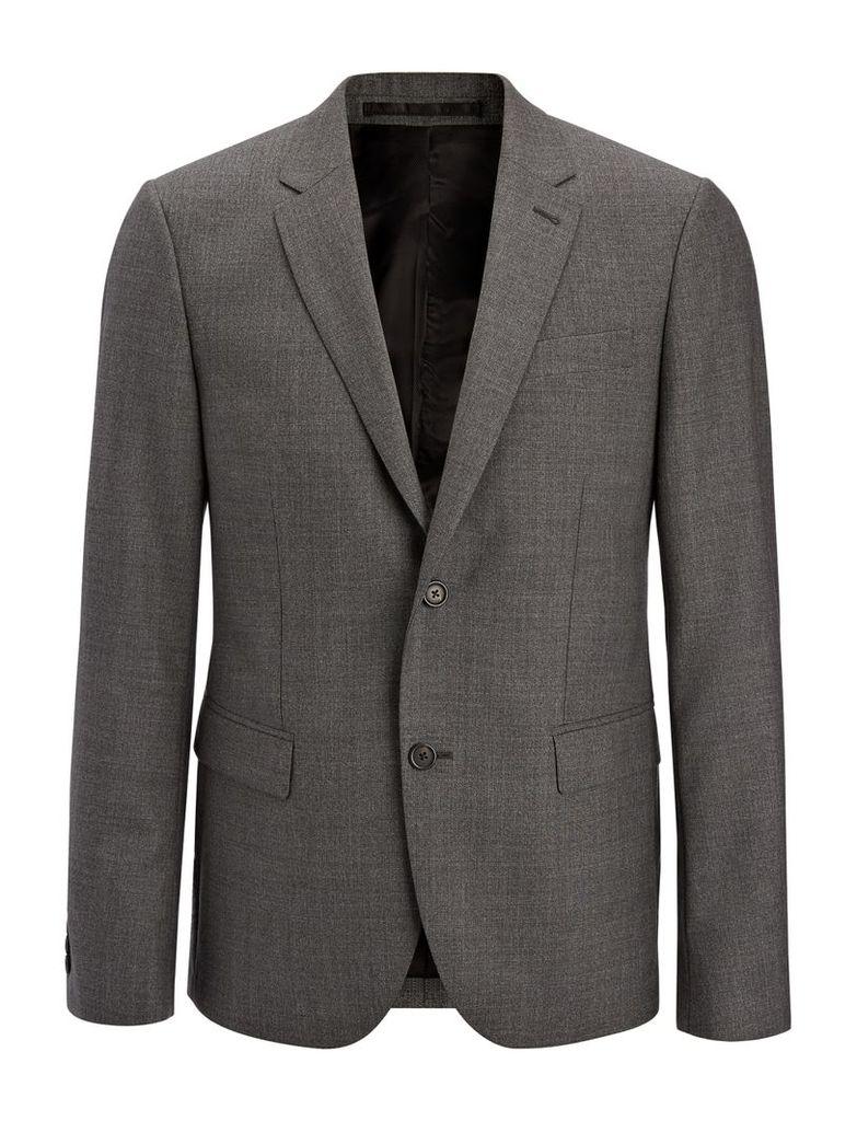 Tropical Wool Davide Jacket in Grey