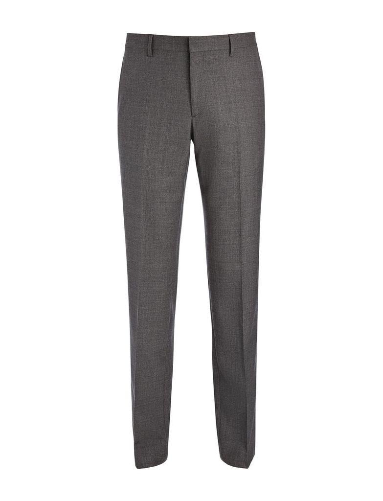Tropical Wool Darwin Trousers in Grey