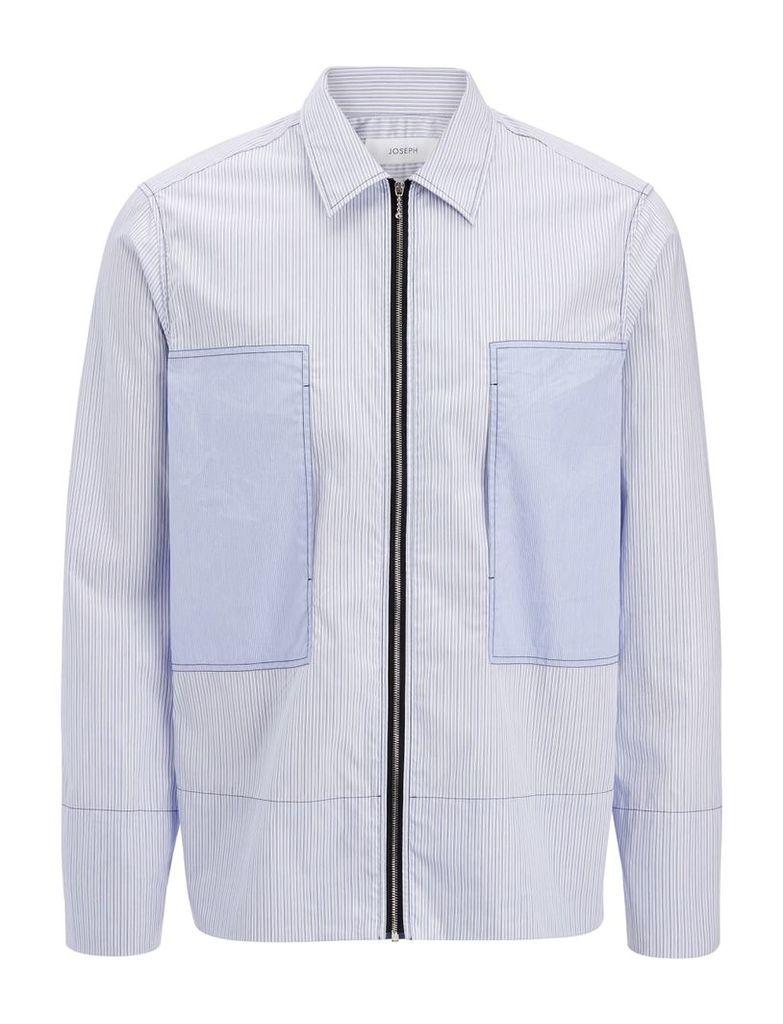 Workwear Stripes Falkland Jacket in Blue