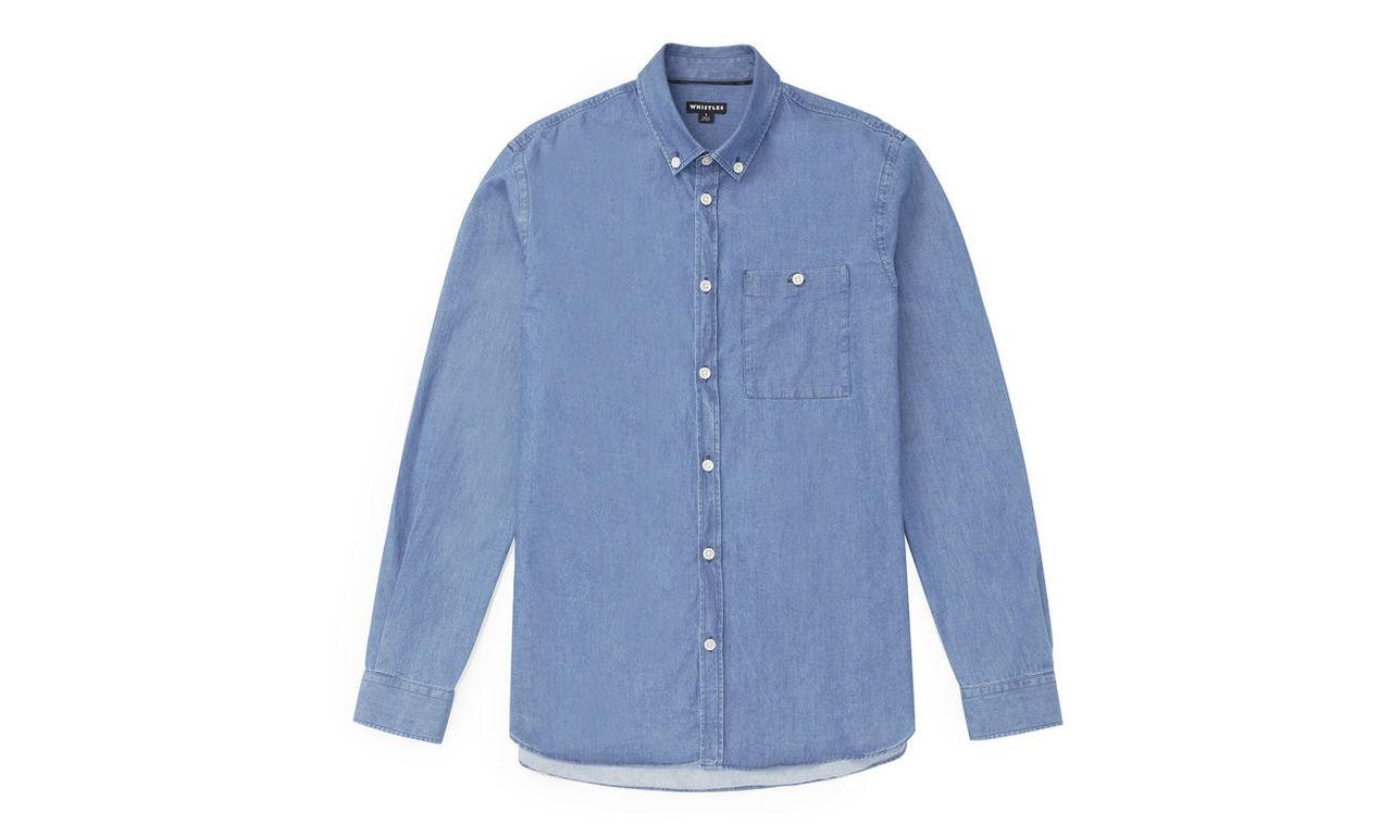 Essential Pocket Denim Shirt