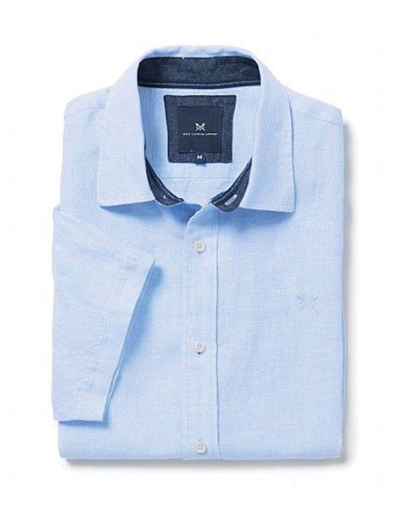 Banstead Short Sleeve Linen Shirt
