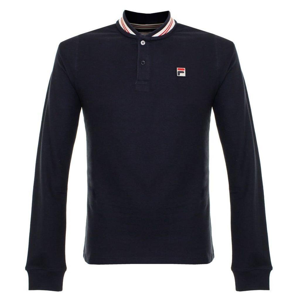 Fila Baseball Peacoat Polo Shirt SS17VGM022