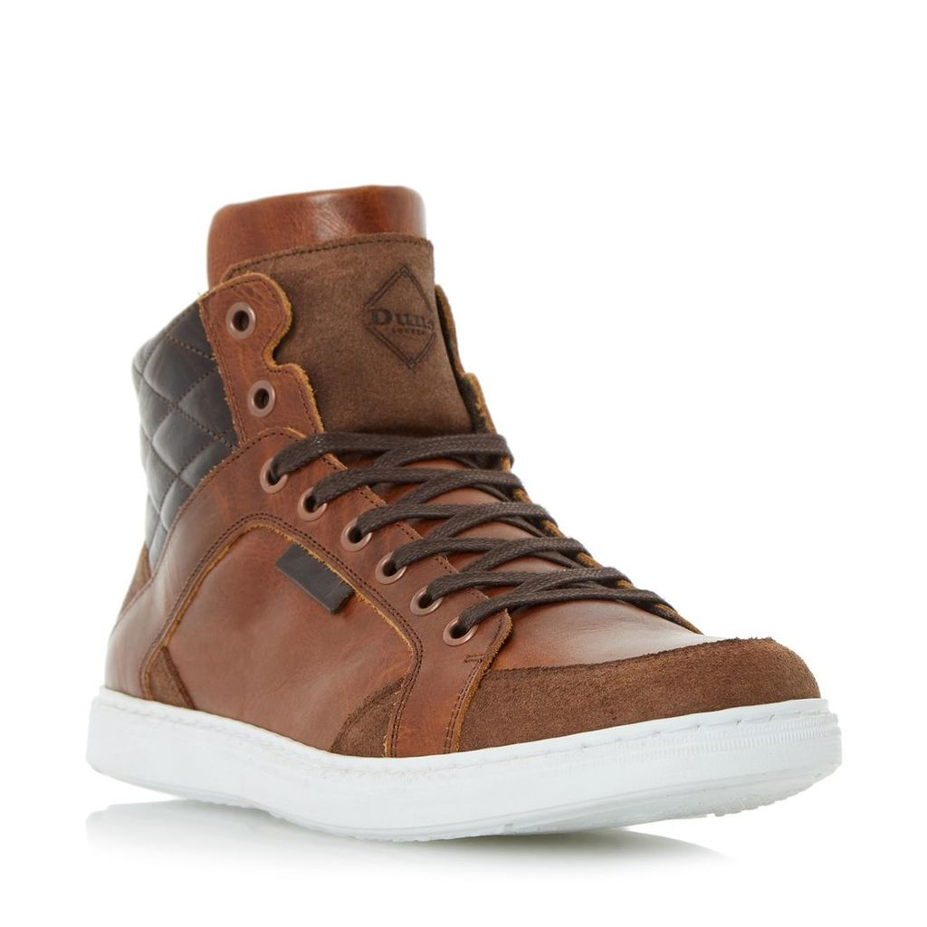 Sherlock Quilted Collar High Top Trainer