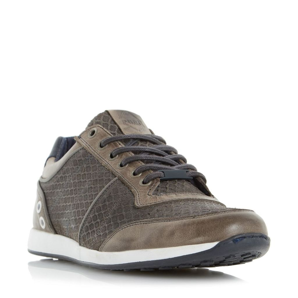Texas Mesh Panel Lace Up Trainer