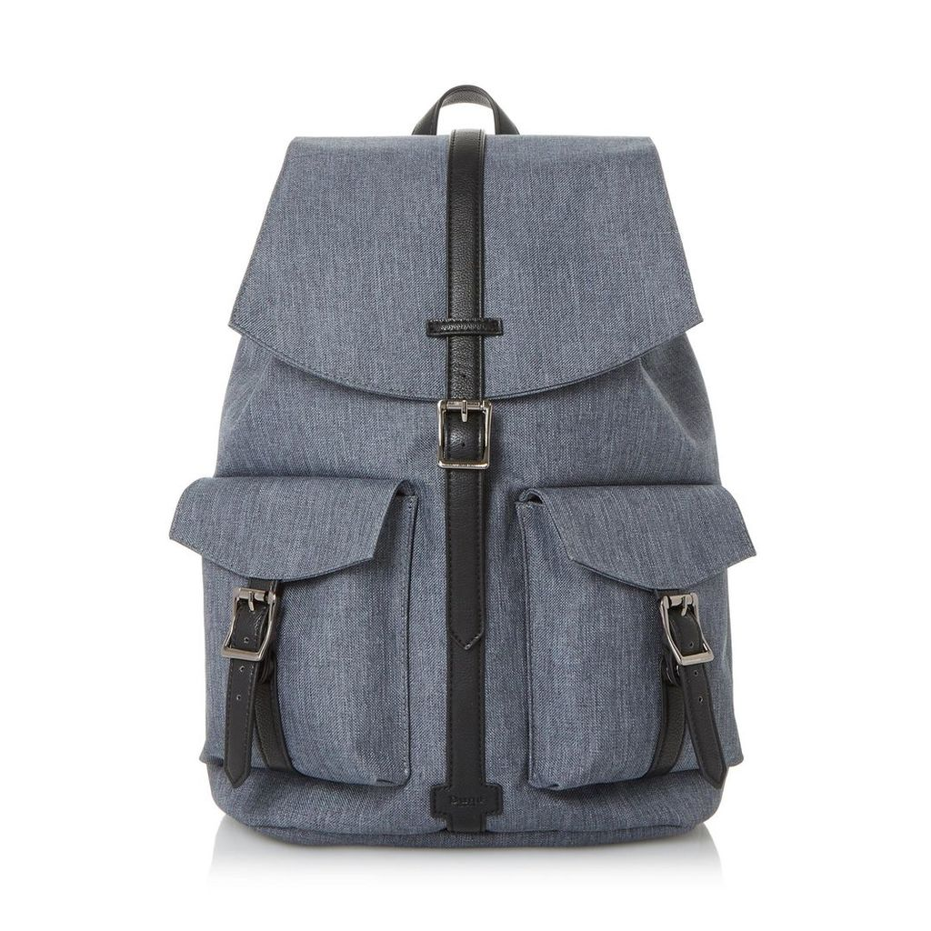 Nexus Canvas Double Pocket Backpack