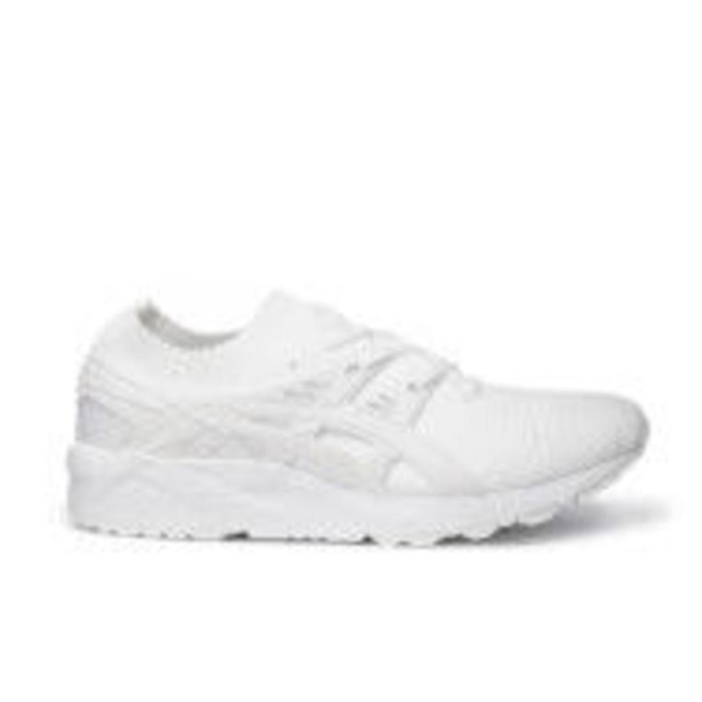 Asics Men's Gel-Kayano Knit Trainers - White/White - UK 7