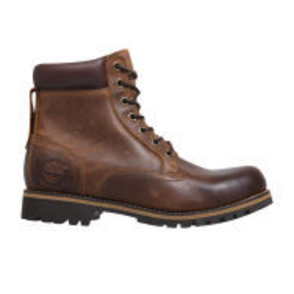 Timberland Men's Earthkeepers Rugged Waterproof Boots - Copper - UK 8