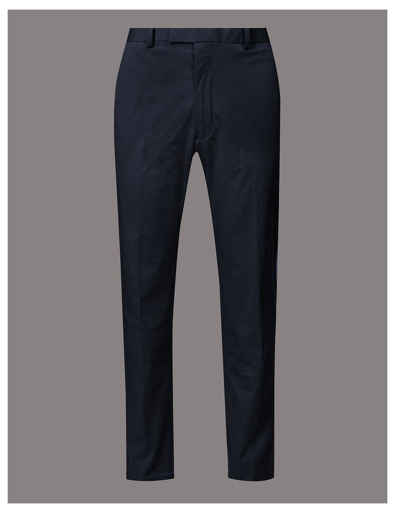 Autograph Slim Fit Cotton Rich Trousers