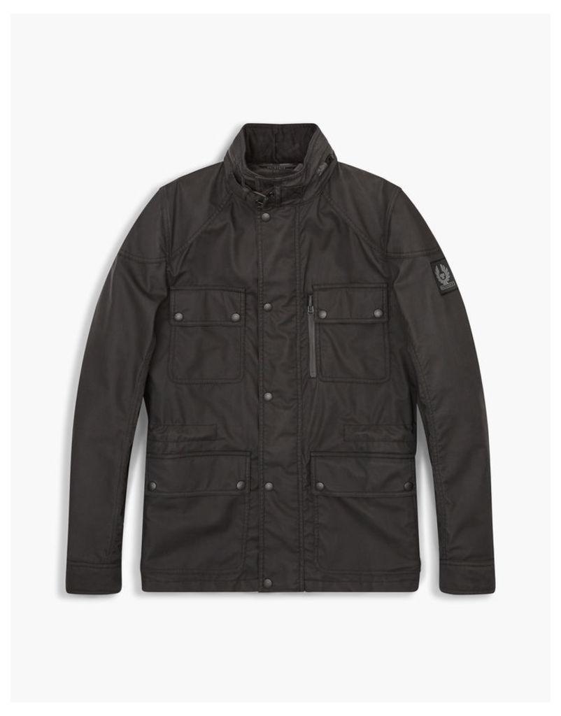 Belstaff Trialmaster Hooded Jacket Black