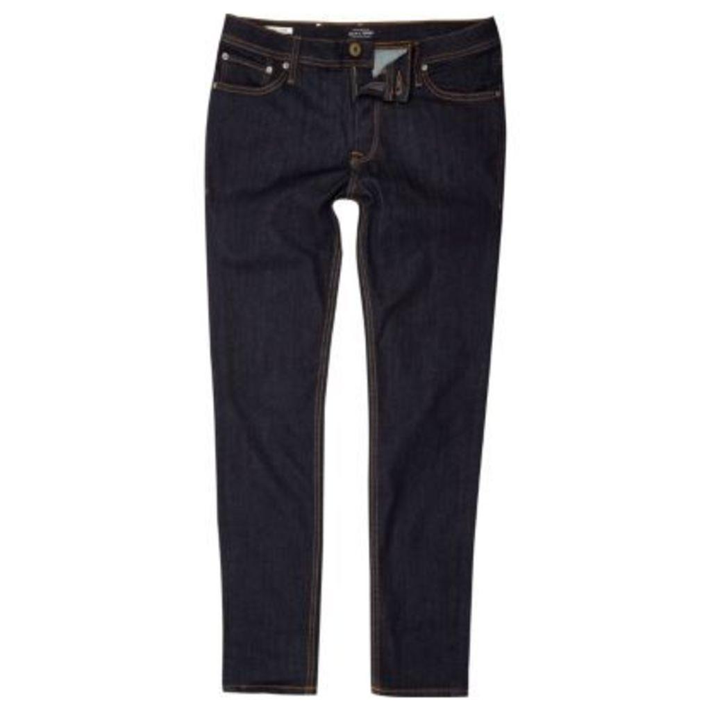 River Island Mens Blue Jack & Jones Skinny fit jeans