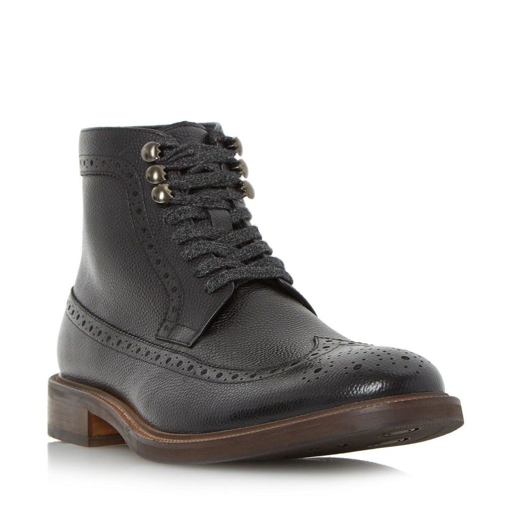 Carnaby Flecked Lace Brogue Boot