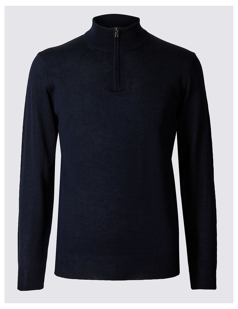 M&S Collection Merino Wool Blend Jumper