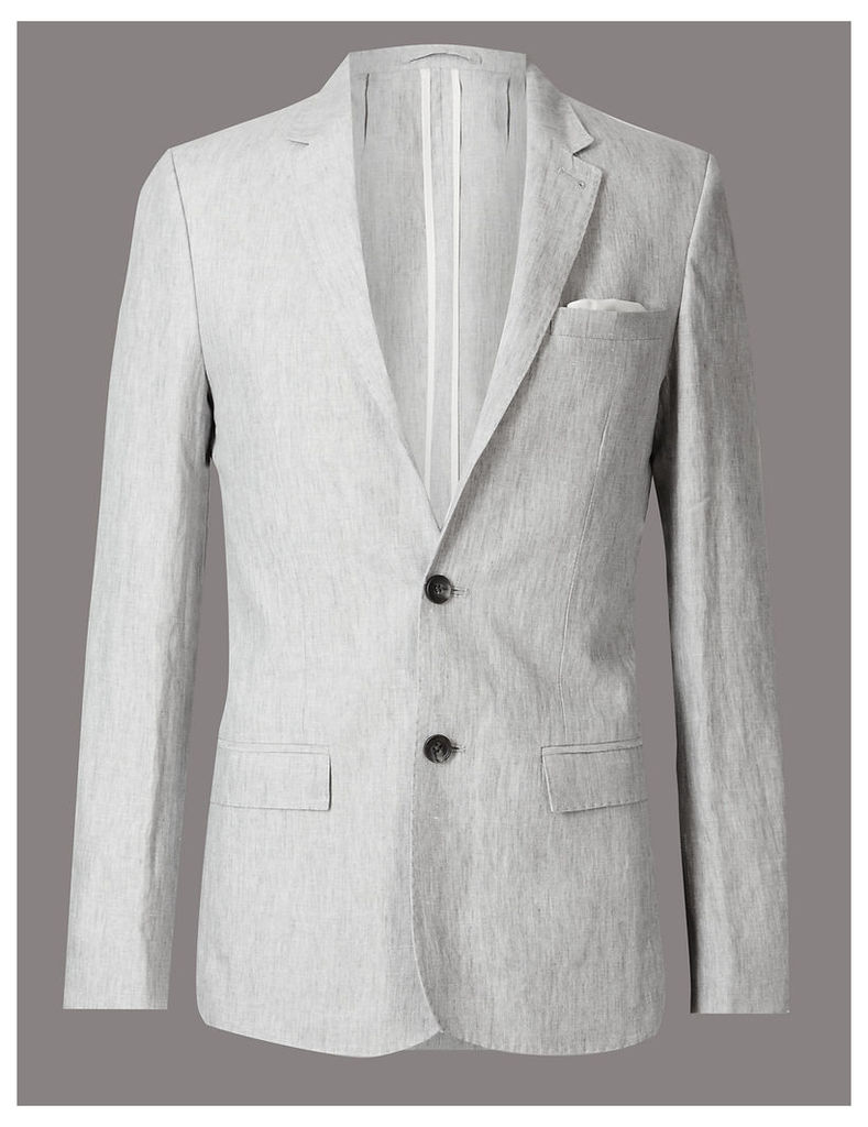 Autograph Pure Linen 2 Button Jacket