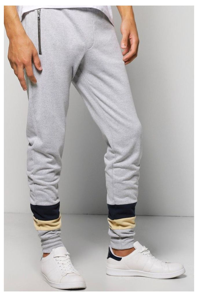 Fit Panel Joggers - grey
