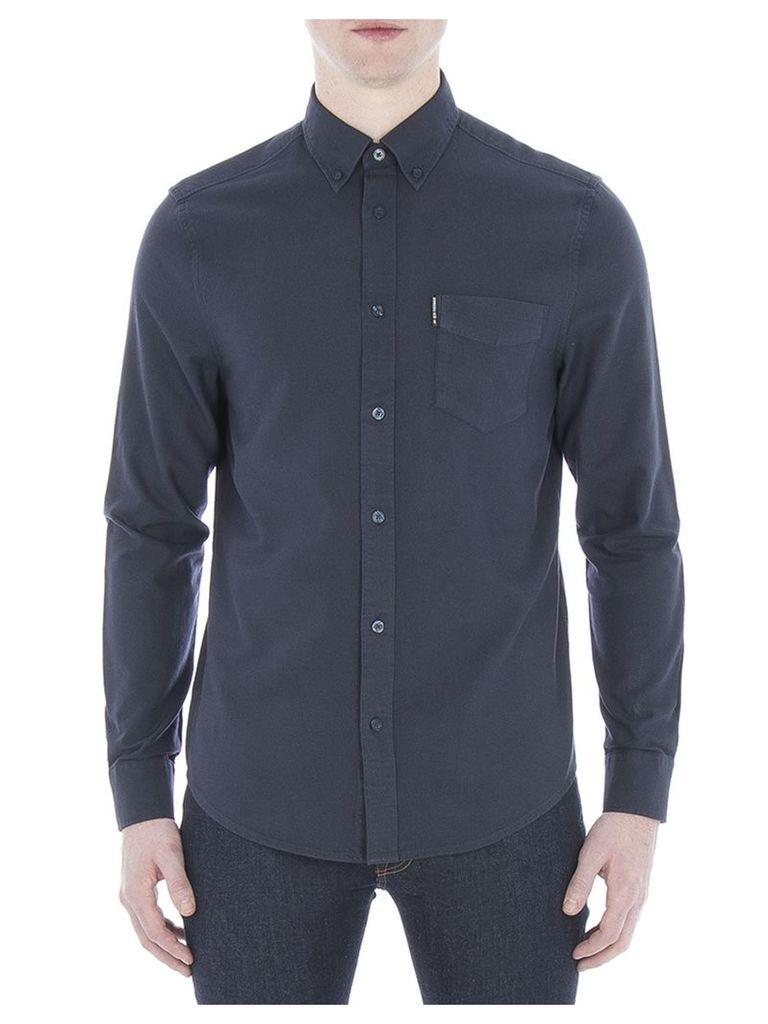Long Sleeve Classic Oxford Shirt XXS B51 Navy Blazer
