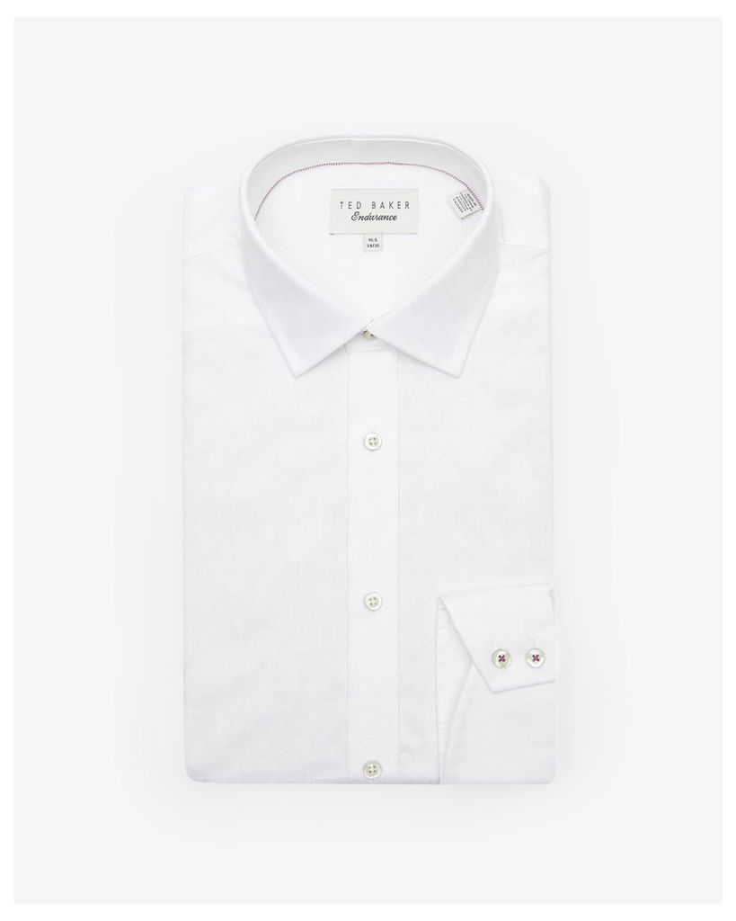Ted Baker Sterling cotton shirt White