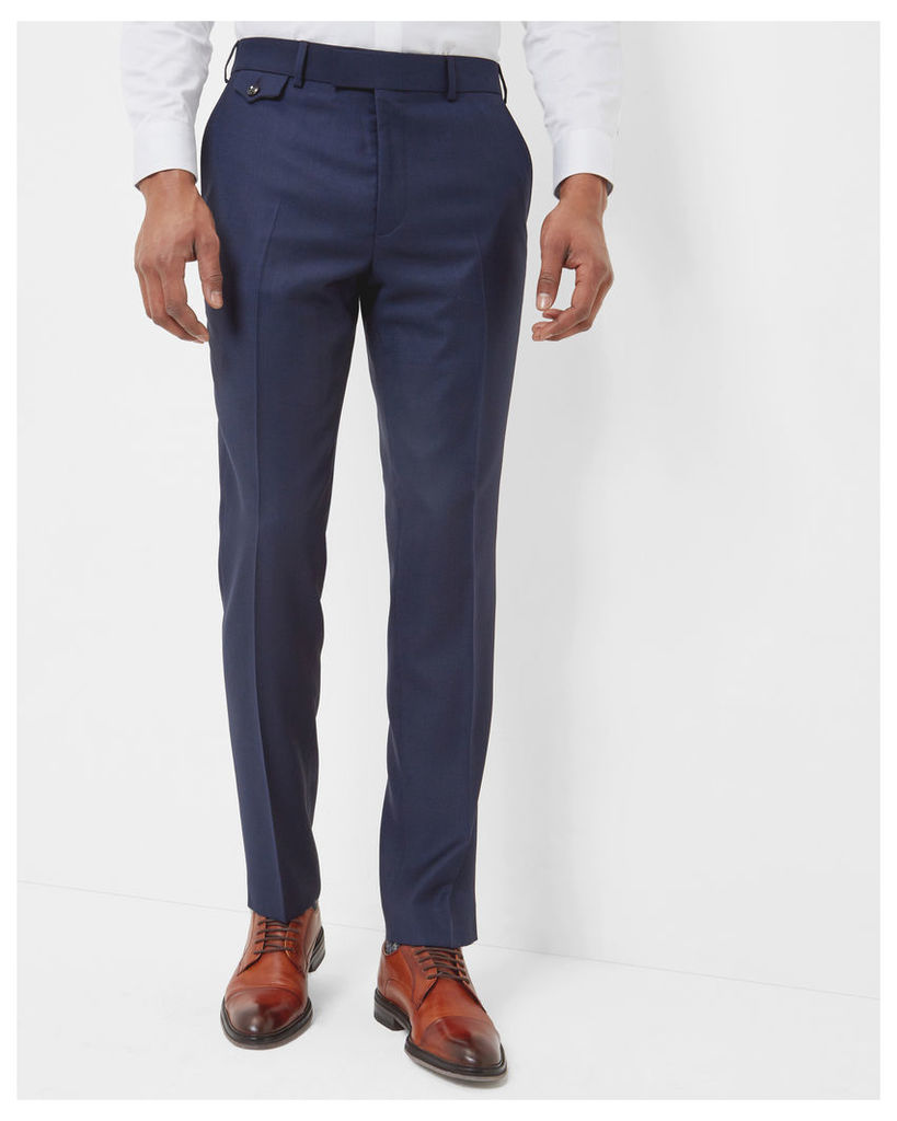Ted Baker Sterling wool trousers Blue