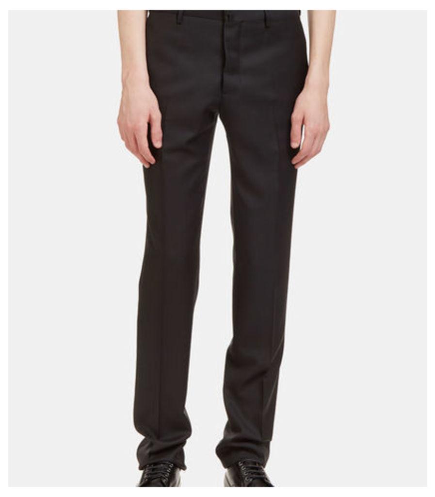 I Virgin Wool Slim Leg Tailored Pants