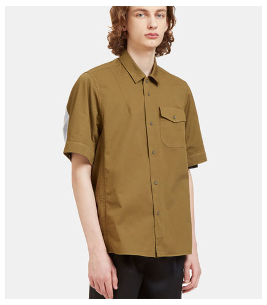 Pacific Rear Striped Panel Shirt
