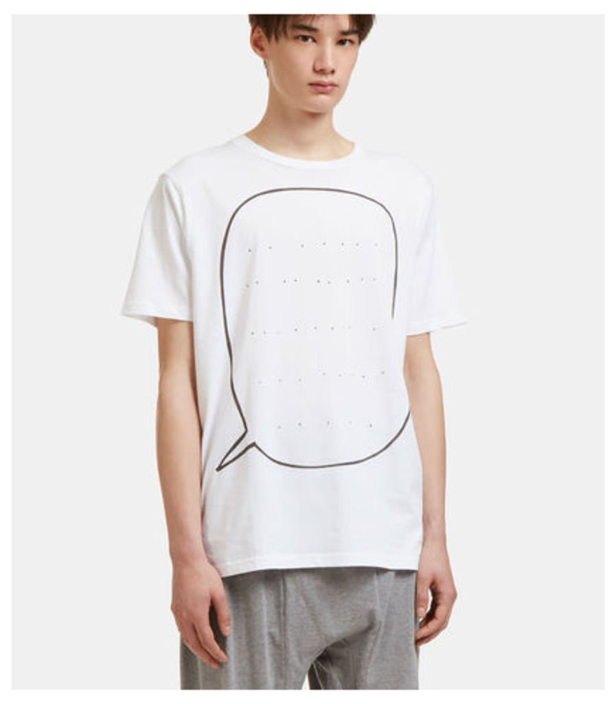 Big Speech Bubble Print T-Shirt