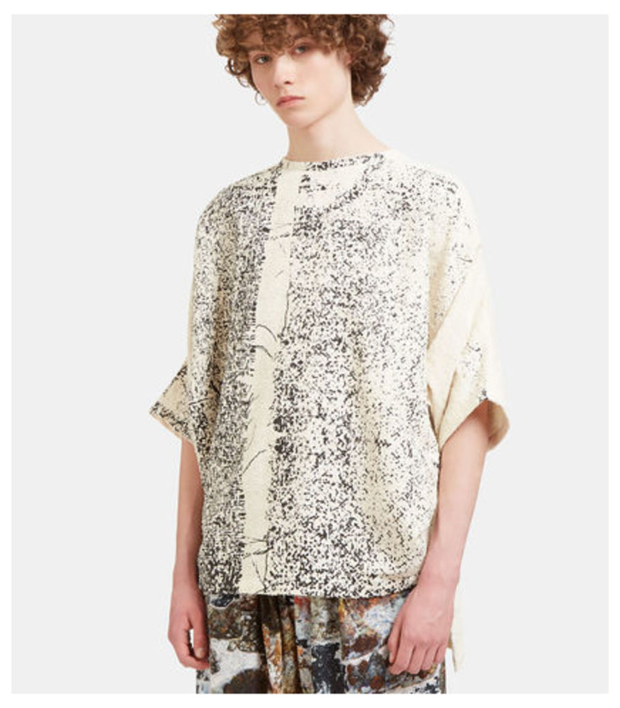 Hand printed Big Topper Oversized Top
