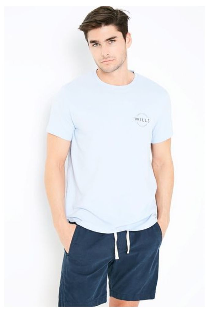 CAMPBELL T-SHIRT PALE BLUE