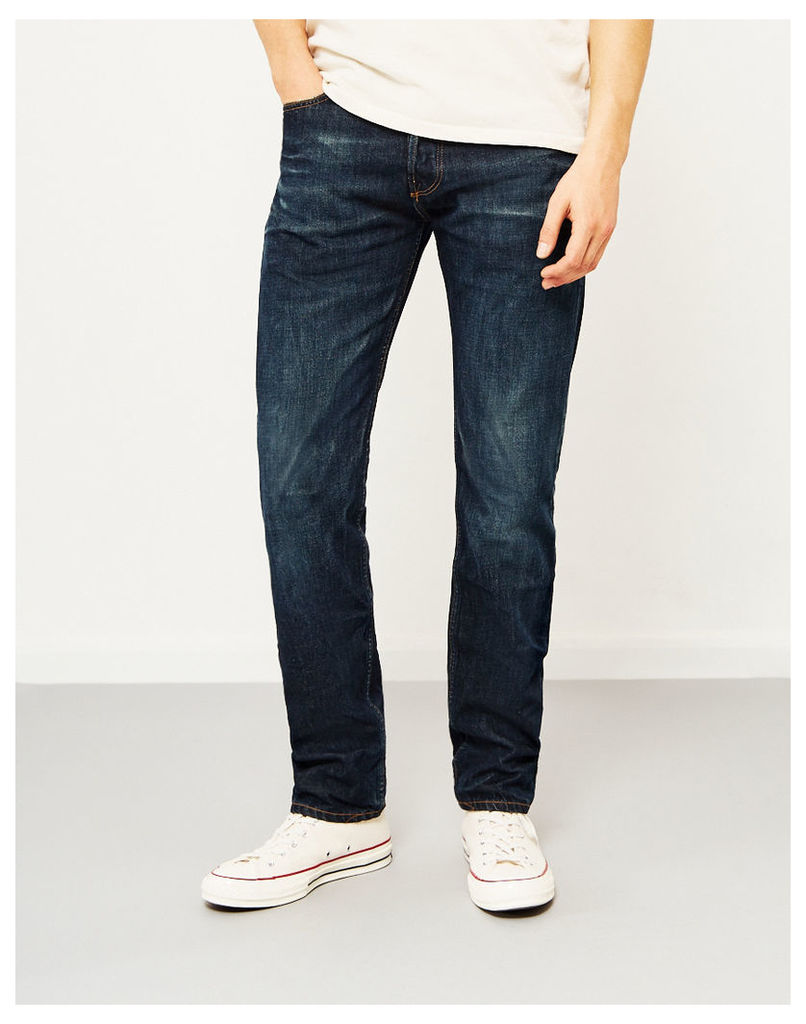 Hawksmill 14oz Organic 6 Months One Wash Loose Tapered Fit Jeans