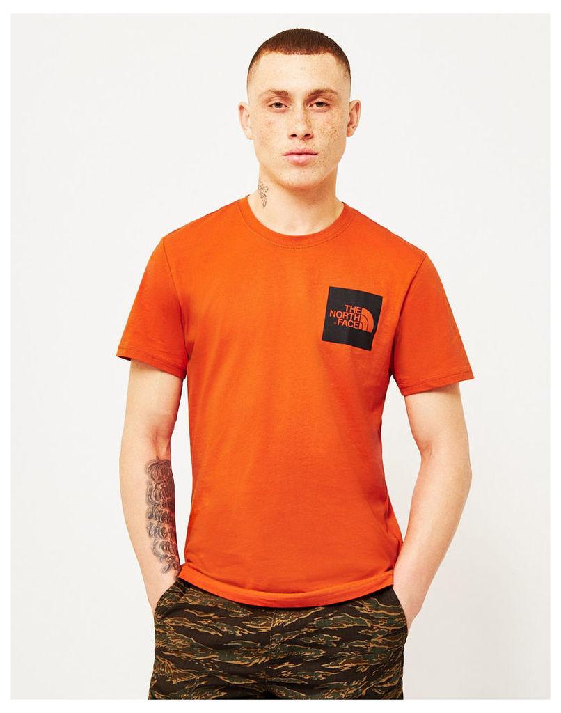 The North Face Black Label Short Sleeve Fine T-Shirt Orange
