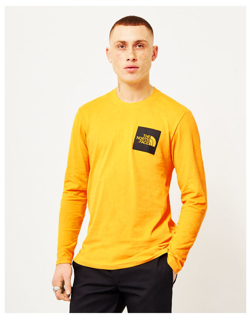 The North Face Black Label Long Sleeve Fine T-Shirt Yellow