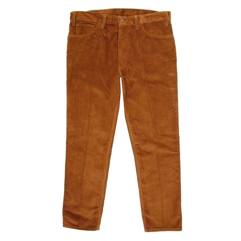 Levi's Vintage 519 Sta-Prest Peanut Corduroy Trousers 30081-0008