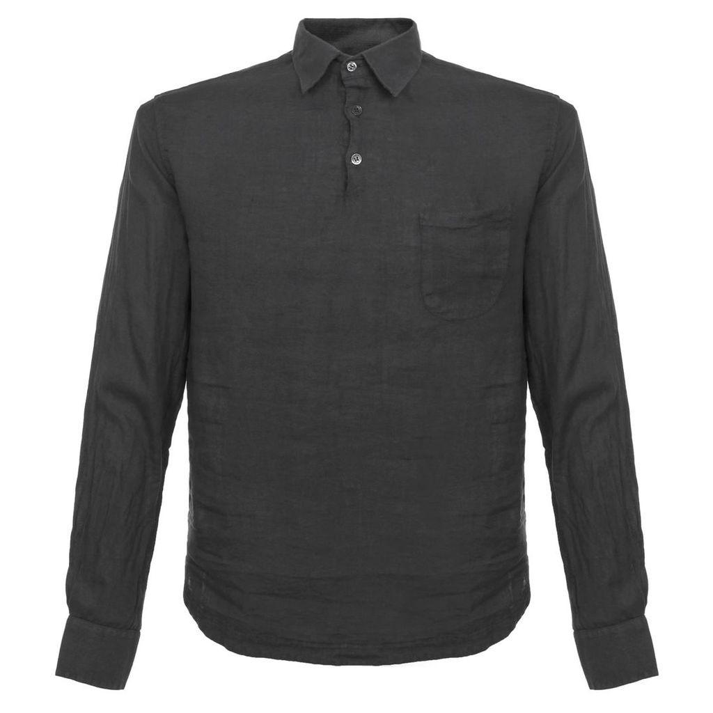 Barena Venezia Pavan Telino Charcoal Shirt CAU13653007