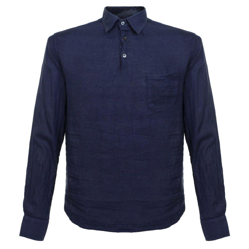Barena Venezia Pavan Telino Navy Shirt CAU13653007