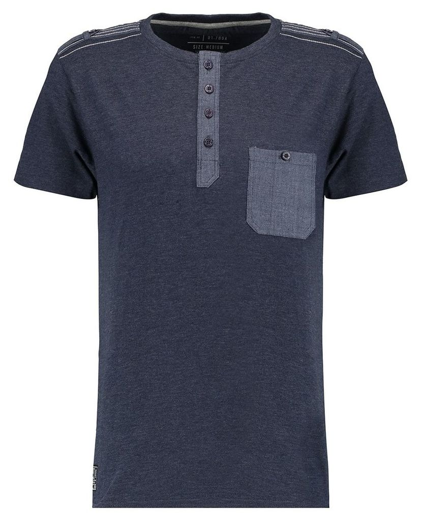 Men's Blue Inc Blue Single Pocketed X Special T-shirt, Blue