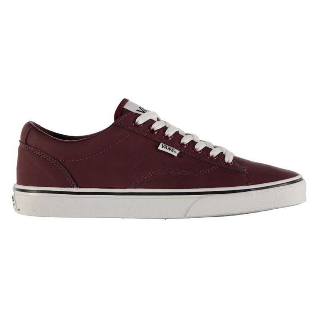 Vans Dawson Leather Skate Shoes