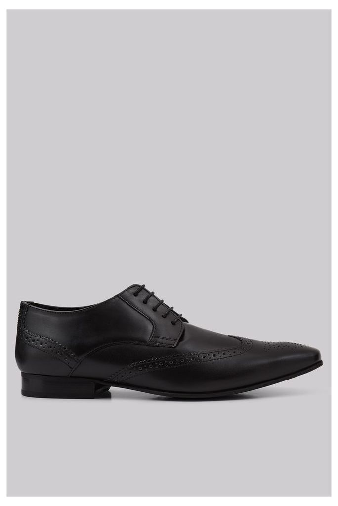 Moss London Tilsbury Black Brogues