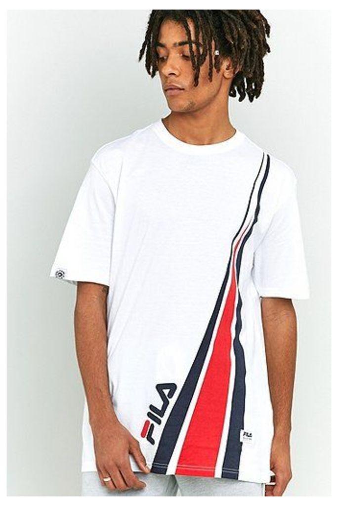 Fila Arlo Logo White T-shirt, White